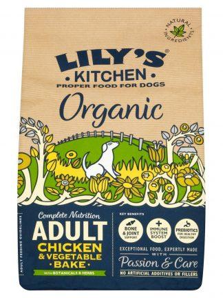 Briketi hrana za pse Lilys kitchen organic chicken