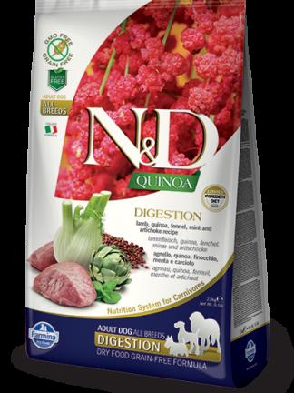 N&D hrana za pse kvinoja in jagnjetina