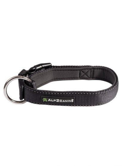 podložena ovratnica za pse z odsevniki neopren alp2canine