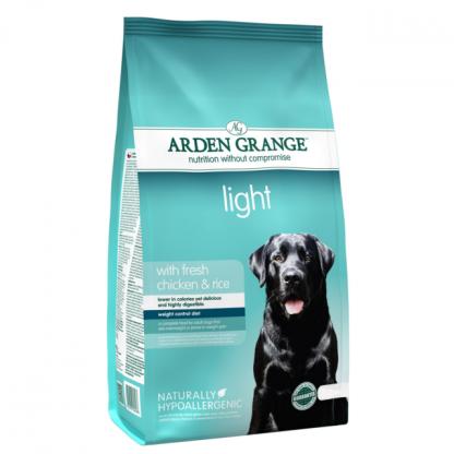 Arden Grange Light hrana za pretežke pse