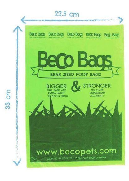 eko vrečke za pasje kakce drečke dimenzije velike trpežne