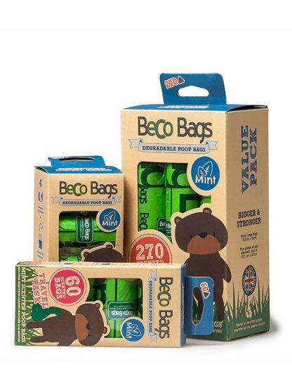 bio razgradljive vrečke za pasje kakce naravi prijazne zelene