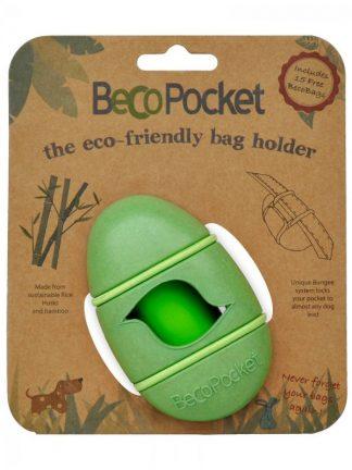 nosilec za vrečke za pasje kakce drečke zelen bio razgradljiv