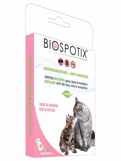 biogance ampule proti zajedavcem naravne za mačke biospotix