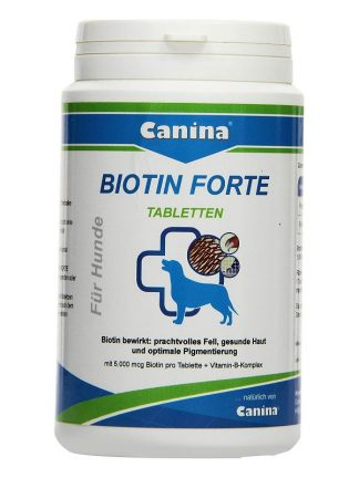 Canina biotin forte tablete za lepo dlako in kremplje