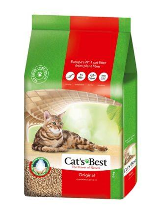 ekololški higienski posip za mačke iz lesa super vpojen