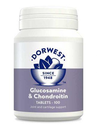 Dorwest glukozamin in hondroitin prehransko dopolnilo za sklepe tablete za pse