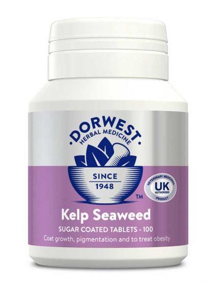 Dorwest kelp tablete naravno prehransko dopolnilo za pse