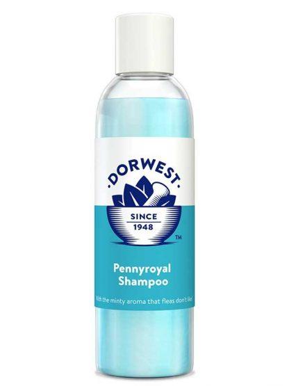 naraven šampon za pse in mačke z mentolom poporov meto pomirja pennyroyal