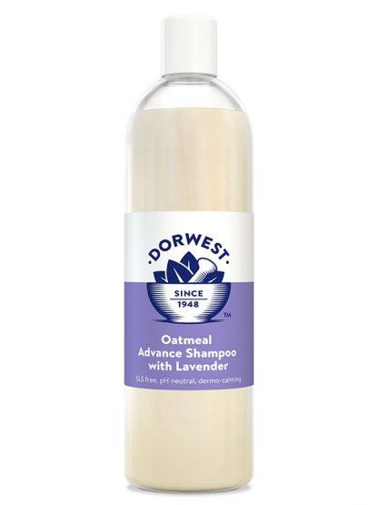 naraven šampon oves in sivka za občutljivo kožo vnetja alergije