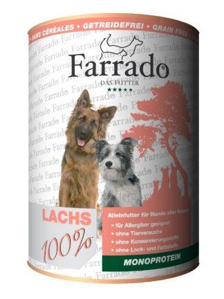 Farrado konzervirana hrana za pse 100% meso losos monoproteinska za občutljive brez žitaric