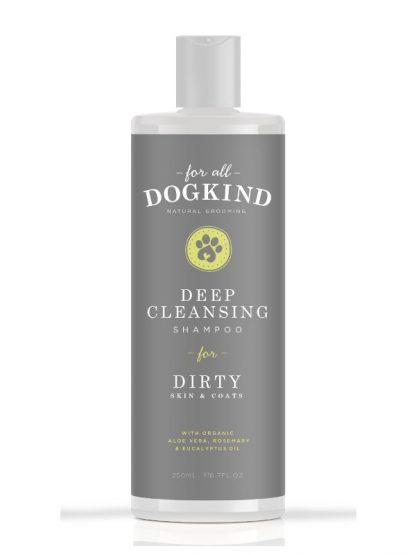 naraven šampon za umazane pse odstranjevanje umazanije globoko čiščenje
