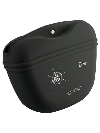 silikonska torbica za pasje priboljške enostavna črna na magnet priročna