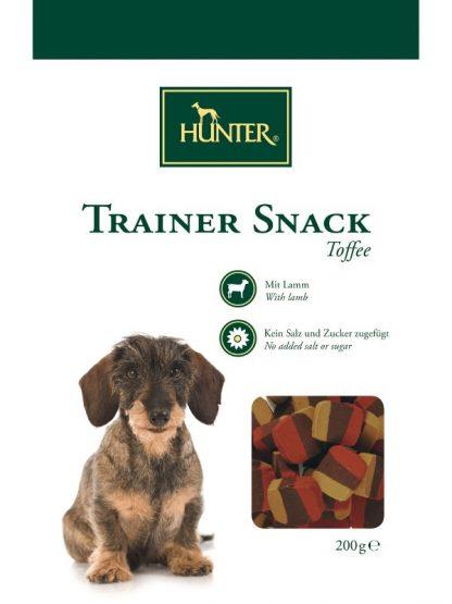 mehki priboljški za pse hunter toffee pasje karamele