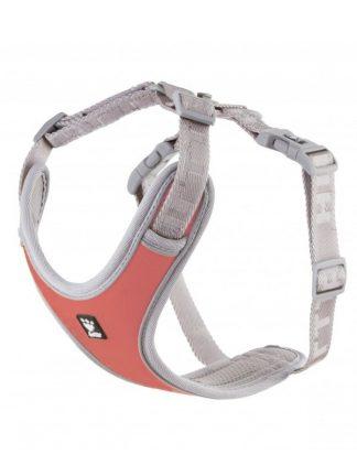 oprsnica za pse hurtta adventure rdeča podložena lahka z nosilcem za lučko kvalitetna najboljša