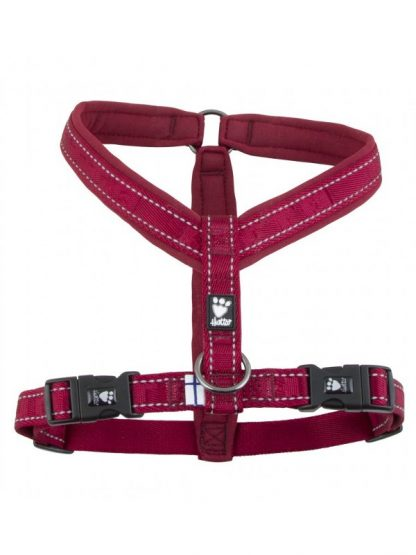 oprsnica za pse udobna podložena mehka kvalitetna rdeča odsevniki