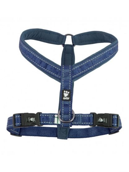 podložena oprsnica za pse udobna lahka varna kvalitetna modra