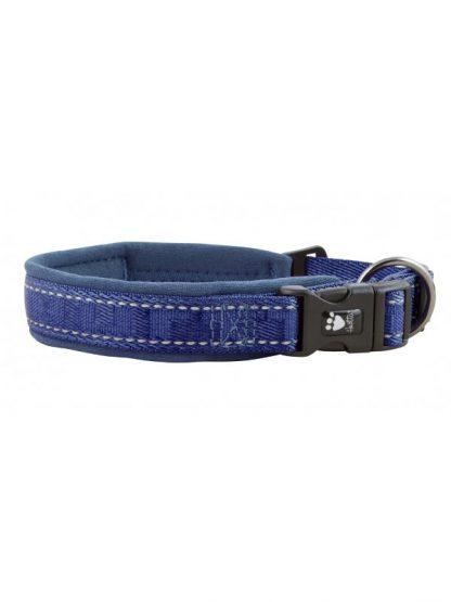 odsevna ovratnica za pse podložena široka udobna varna lahka