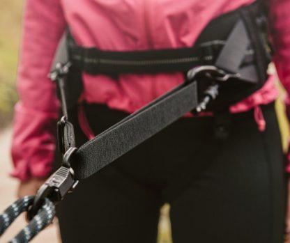 tekaški pas za pripenjanje psa cani cross bike joring mushing raztegljiv fleksibilen udoben
