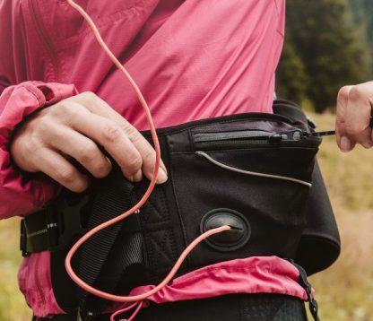 pas za tek s psom bike joring cani cross žepek za mobitel predvajalnik vrečke