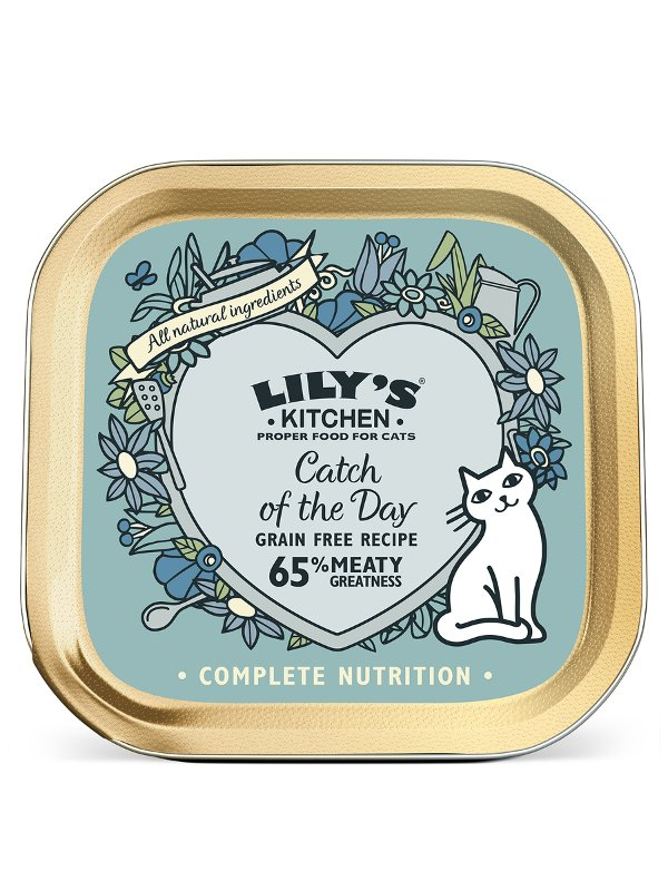 LILYS KITCHEN CATCH OF THE DAY 85G