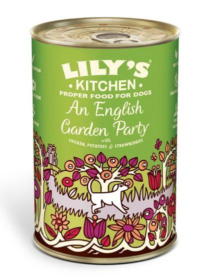 Lilys Kitchen konzervirana hrana za pse piščanec jagode špinača 400