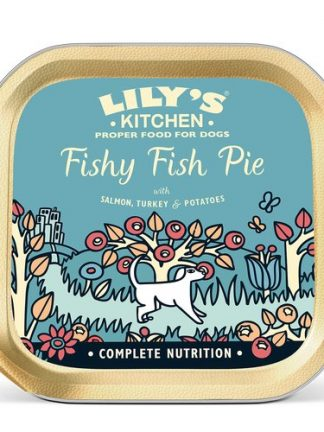 Lilys Kitchen fishy fish pie konzerva za majhne pse 150