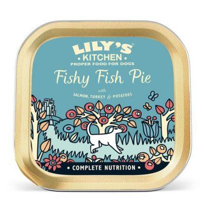 Lilys Kitchen fishy fish pie konzerva za majhne pse 150