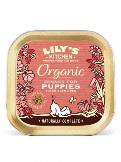 Lilys Kitchen konzerva za pasje mladiče piščanec svinjina 150