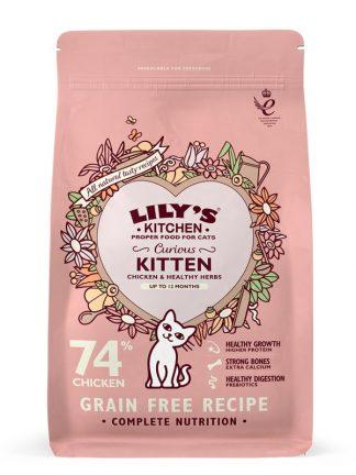 hrana za mačke brez žitaric piščanec za mladiče do 12 mesecev