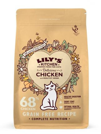 mačja hrana brez žitaric naravni piščanec