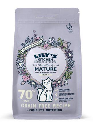 harana za mačke brez žitaric za starejše po 7 letu starosti