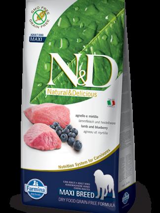 N&d hrana za pse adult maxi jagnjetina