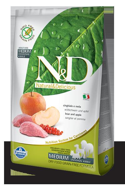 N&D grain free hrana za pse boar