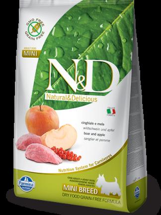N&D hrana za pse grain free mini boar
