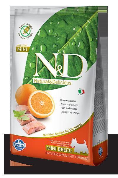 N&D hrana za pse grain free riba mini