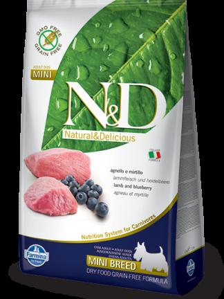 N&D hrana za pse mini brez žitaric jagnjetina