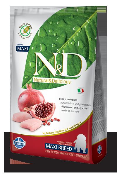 N&D maxi za mladiče piščanec
