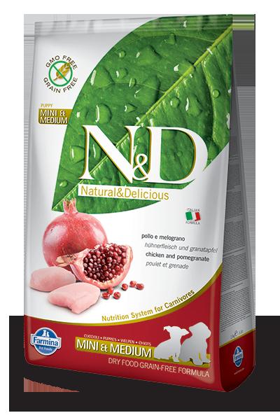 N&D hrana za mladiče grain free piščanec