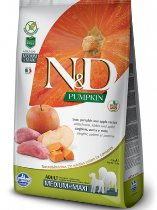 Hrana za pse N&D svinjina buča