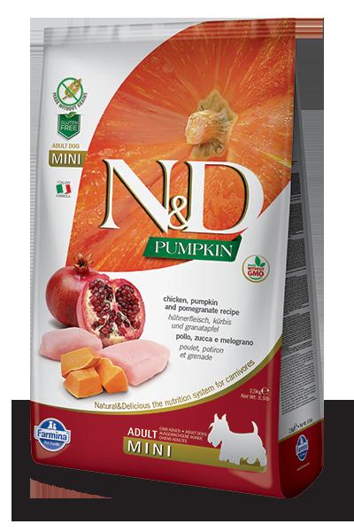 n&d hrana za pse piščanec mini