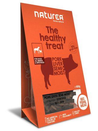 polsuhi priboljški za pse naturea svinjska jetra za trening šolanje