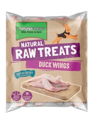 Natures menu surova račja krila zamrznjena za pse BARF