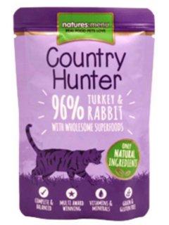 mokra hrana za mačke zdrava sveža puran kunec 96