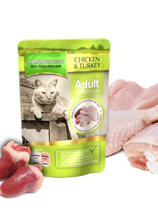 konzervirana mačja hrana zdrava sveža piščanec puran v vrečki