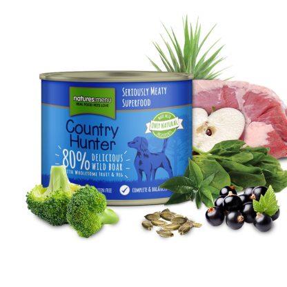 Natures menu konzerva za pse brez žitaric divja svinja