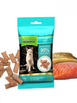 mehki priboljški za pse in mačke v obliki salamic tuna in postrv