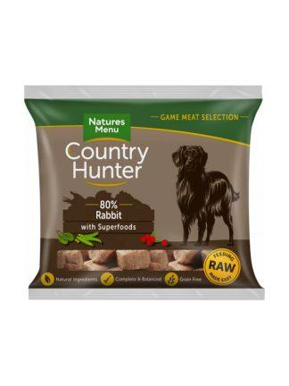 natures menu surova hrana za pse kunec