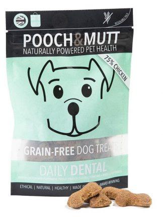Pooch and mutt pasji piškotki brez žitaric za nego zob piščanec