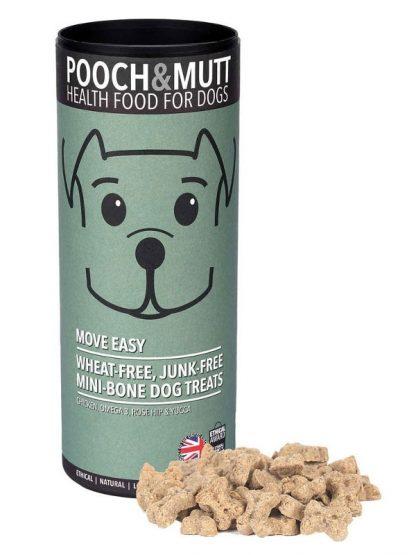 Pooch and mutt mini priboljški za pse šipek za sklepe tubica